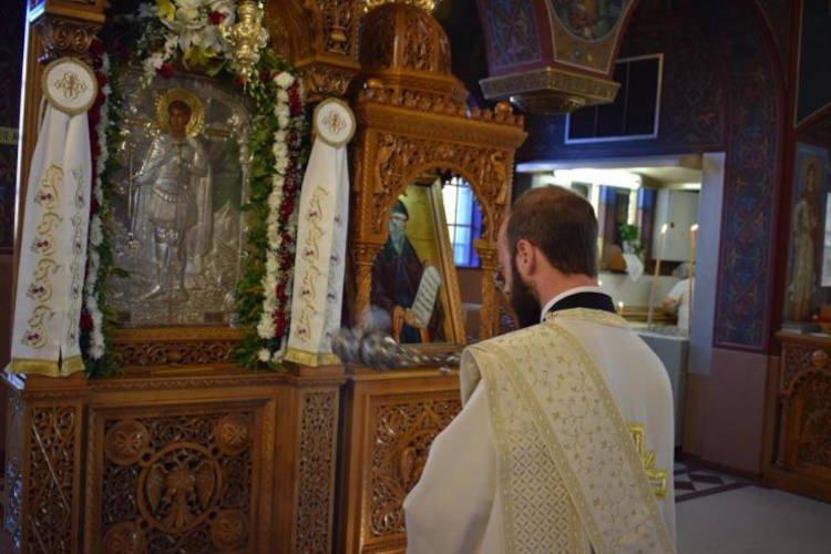 Η Εορτή του Αγίου Φανουρίου στο Ίλιο
