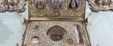 Μέχρι αύριο θα παραμείνει το Λείψανο της Αγίας Αικατερίνης στην Καλαμαριά