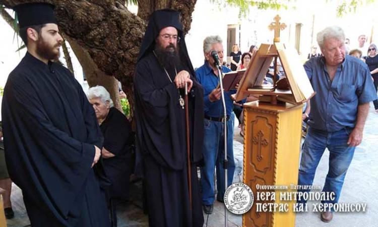 Πέτρας Γεράσιμος: Ο πιστός ορθόδοξος λαός τιμά ιδιαιτέρως την Παναγία