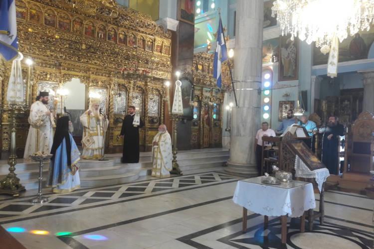 Η Σάμος εόρτασε τους προστάτες Αγίους της