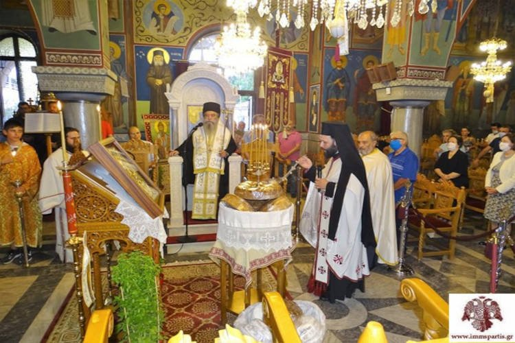 Η Εορτή της Αναμνήσεως του Θαύματος του Αγίου Σπυρίδωνος στην Σπάρτη