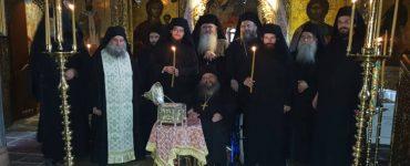 Ρασοφορίες Δοκίμων Μοναχών στη Μονή Αγίου Βησσαρίωνος Δουσίκου