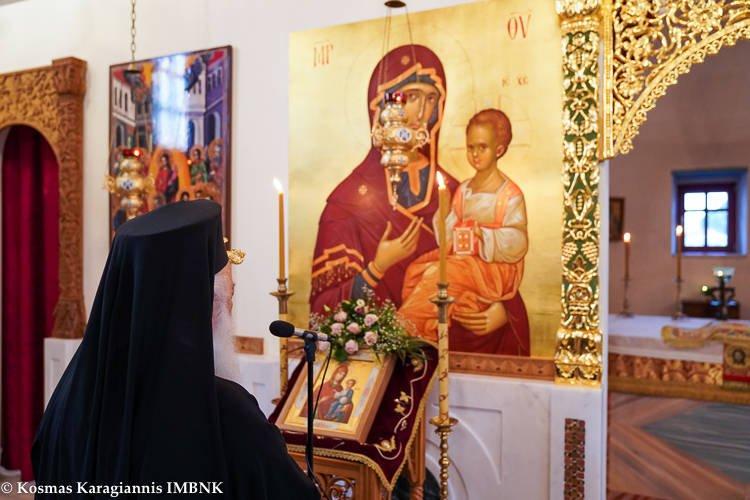 Συνεχίζονται οι παρακλήσεις της Παναγίας μας στη Μητρόπολη Βεροίας