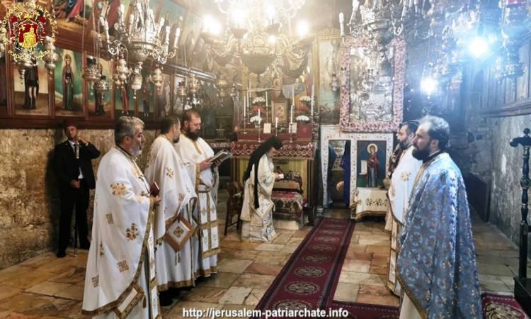 Η Εορτή της Κοιμήσεως της Θεοτόκου στο Πατριαρχείο Ιεροσολύμων