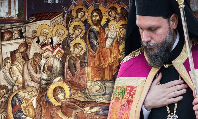Νέας Ιωνίας Γαβριήλ: Να μιμηθούμε την ταπεινότητα της Παναγίας μας για να κοινωνήσουμε αξίως το Σώμα και το Αίμα του Υιού Της