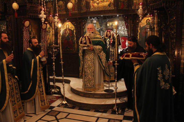Ο πρώτος πανηγυρικός εορτασμός του Οσίου Ιωσήφ του Ησυχαστού στο Τρίκορφο Φωκίδος (ΦΩΤΟ)