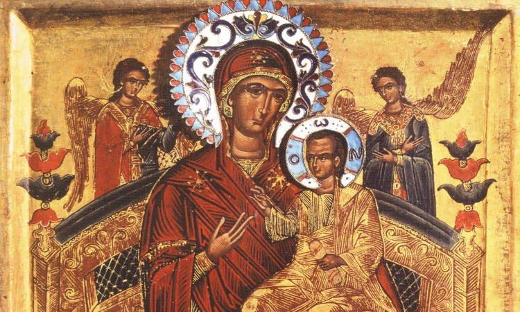 Υποδοχή Παναγίας Παντανάσσης από τη Μονή Βατοπαιδίου Πανήγυρις Παναγίας Παντανάσσης στην Έδεσσα