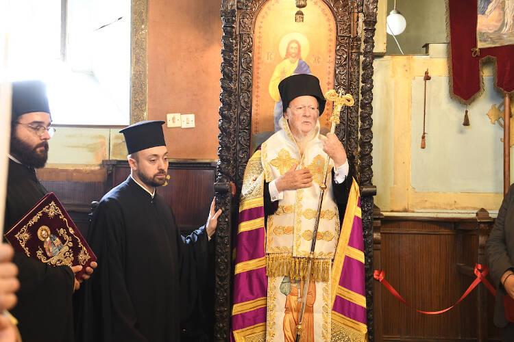 Οικουμενικός Πατριάρχης: Με προσευχή, με αποφασιστικότητα και με το μέτωπο ψηλά συνεχίζουμε (ΦΩΤΟ)