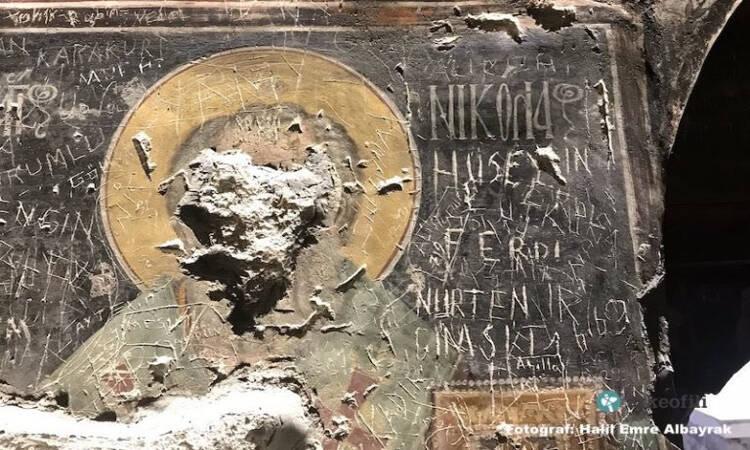 Ανυπολόγιστη καταστροφή στην Παναγία Σουμελά: Βανδάλισαν τις βυζαντινές τοιχογραφίες