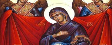 Αγρυπνία Παναγίας Εγκυμονούσας στην Πετρούπολη