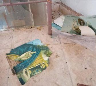Αλλοδαποί κατέστρεψαν τον Ναό του Αγίου Γεωργίου στη Μόρια - Απίστευτες Εικόνες