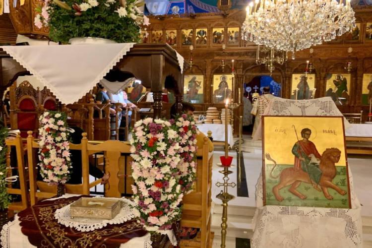 Εορτή Αγίων Μάμαντος και Πολυδώρου του Κυπρίου στην Αρχιεπισκοπή Κύπρου