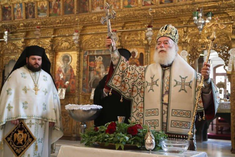 Εορτή του Τιμίου Σταυρού στην Κύπρο και χειροθεσία Αρχιμανδρίτου από τον Πατριάρχη Αλεξανδρείας