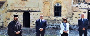 Επίσκεψη της Προέδρου Ελληνικής Δημοκρατίας στον Άγιο Νικόλαο της Στέγης