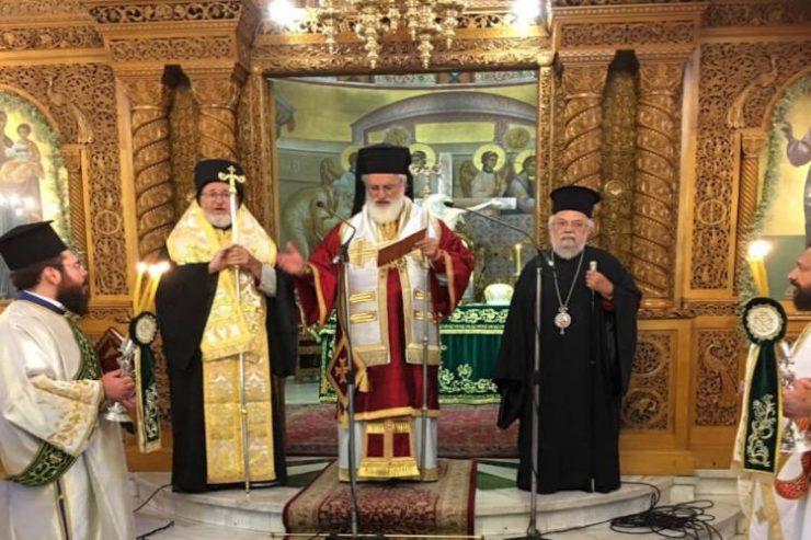Αρχιερατική Θεία Λειτουργία στον Ιερό Ναό Κυρίλλου και Μεθόδιου Θεσσαλονίκης