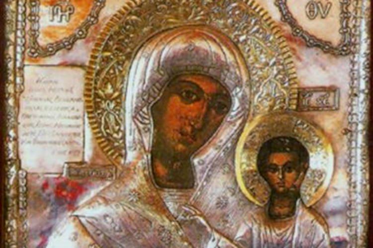 Η Παναγία Δεμερλιώτισσα στο Βόλο