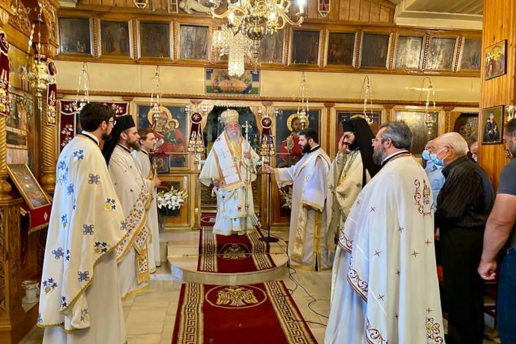 Εορτή Θεοπατόρων Ιωακείμ και Άννης στη Νικήσιανη Παγγαίου (ΦΩΤΟ)
