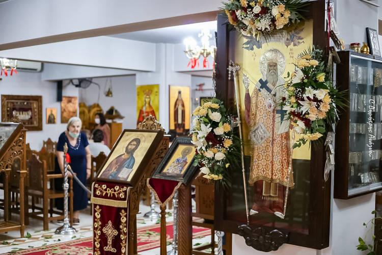 Φθιώτιδος Συμεών: Να μιμηθούμε τον Άγιο Νεκτάριο στην υπομονή (ΦΩΤΟ)