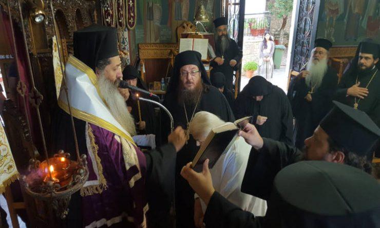 Μεγαλοσχημία Μοναχής στη Μονή Αγίου Γεωργίου Μαλεσίνης