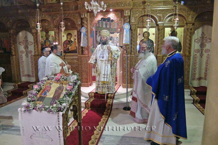 Λαμπρά εόρτασε η Μονή Τιμίου Προδρόμου Καστρίτσης Ιωαννίνων