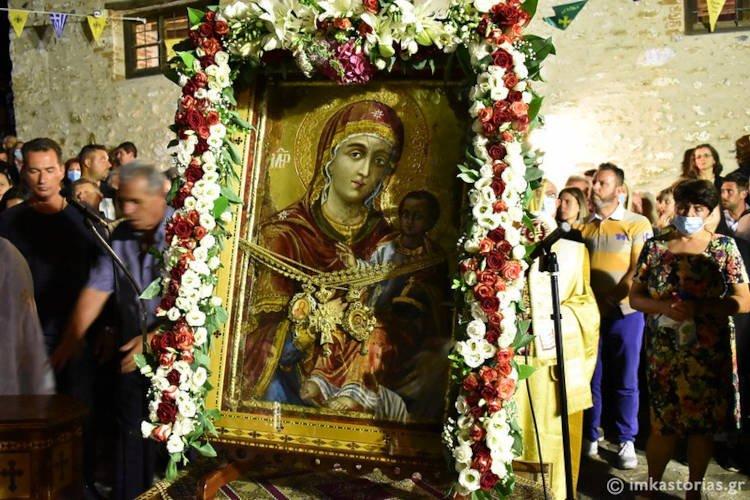 Λαμπρή πανήγυρη της Παναγίας στην Κλεισούρα (ΦΩΤΟ)