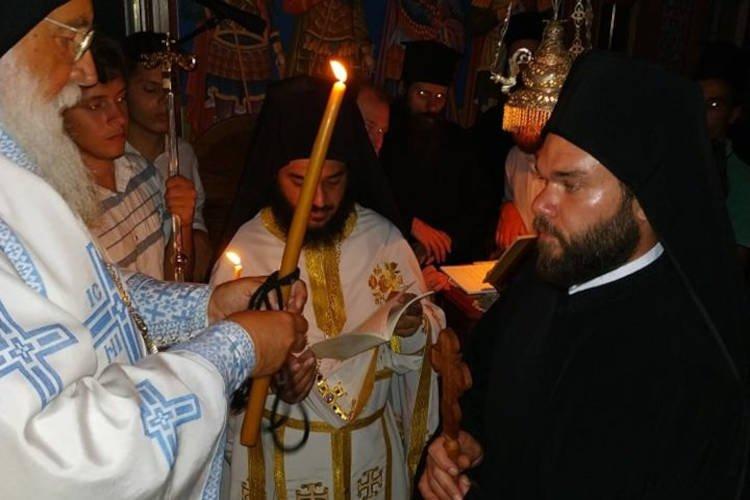 Νέος μοναχός στη Μητρόπολη Κερκύρας