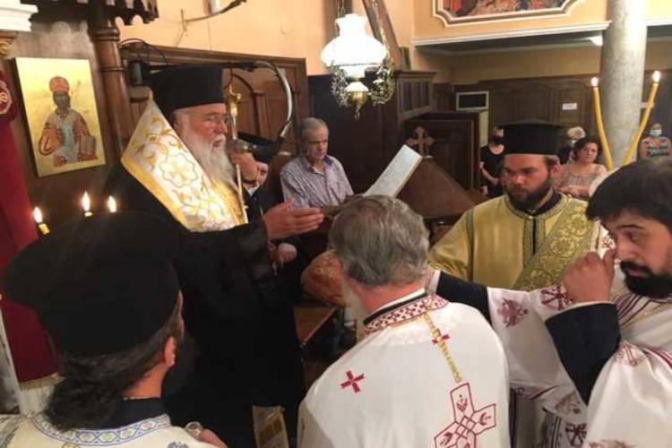 Κερκύρας Νεκτάριος: Η Παναγία είναι η πύλη του ουρανού