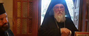 Κερκύρας Νεκτάριος: Να πορευθούμε στον δρόμο του Χριστού Αθώος για την υπόθεση της Θείας Κοινωνίας ο Μητροπολίτης Κερκύρας