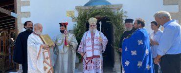 Εορτασμός Παναγίας Μυρτιδιωτίσσης στη Μητρόπολη Κυδωνίας
