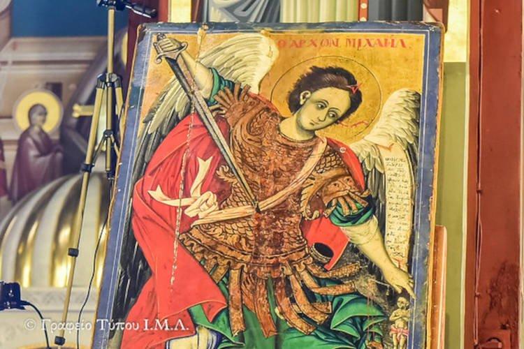 Η Ανάμνηση του εν Χωναίς θαύματος του Αρχαγγέλου Μιχαήλ στη Μητρόπολη Λαγκαδά (ΦΩΤΟ)