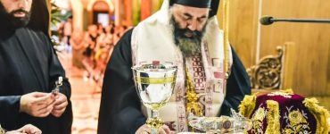 Οι Ιερές Ακολουθίες επί τη Διασαλεύση της Αγίας Τραπέζης στον Ιερό Ναό Κοιμήσεως της Θεοτόκου Αγίου Βασιλείου