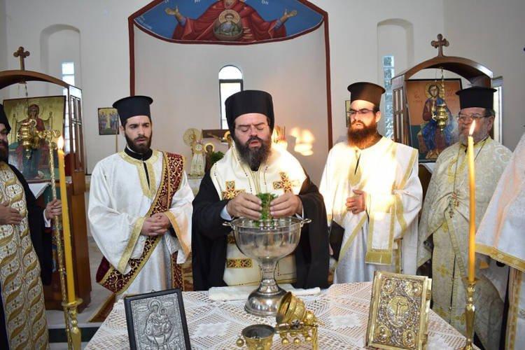 Θυρανοίξια ανακαινισθέντος Ιερού Ναού Παμμεγίστων Ταξιαρχών Νέας Αδριανής