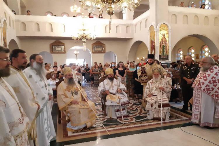 Εγκαίνια Ιερού Ναού Αγίου Θεοφάνους Επισκόπου Περιθεωρίου