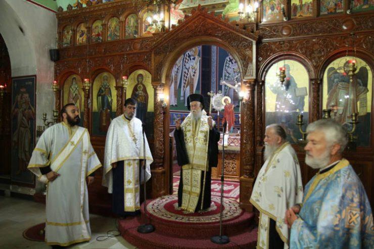 Εορτή Ανακομιδή Λειψάνων Αγίου Δονάτου στη Μητρόπολη Παραμυθίας
