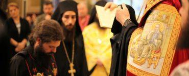 Κουρά νέου μοναχού στη Μητρόπολη Πειραιώς