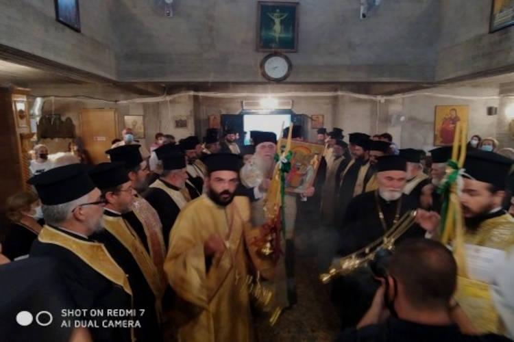 Ανυψώθηκε σε Ενορία το Παρεκκλήσιο της Υπαπαντής του Κυρίου στο Περιστέρι