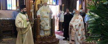Θηβών Γεώργιος: Ο Σταυρός είναι το σημάδι της ελπίδας μας και το στήριγμά μας