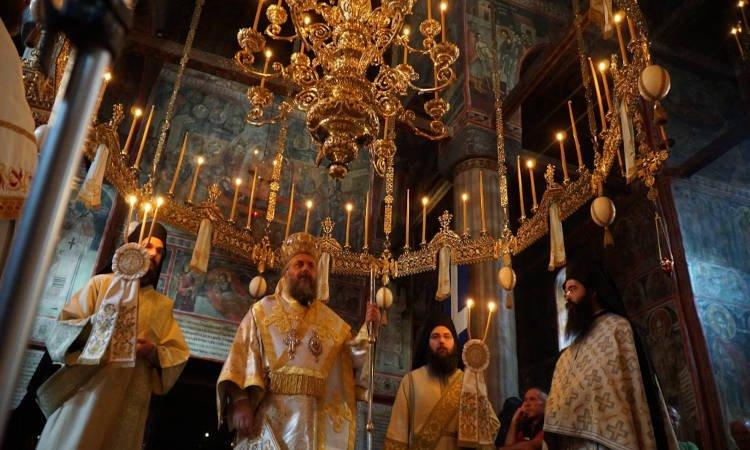 Η Πανήγυρις της Ιεράς Μονής Αγίου Βησσαρίωνος Δουσίκου (ΦΩΤΟ)