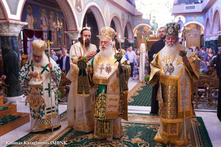 Λαμπρά εορτάστηκε στην Κοζάνη η Ύψωσις του Τιμίου και Ζωοποιού Σταυρού (ΦΩΤΟ)