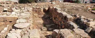 Επίσκεψη Πατριάρχου Ιεροσολύμων στα ερείπια του Ιερού Ναού Αγίου Στεφάνου στη Ράμαλλα