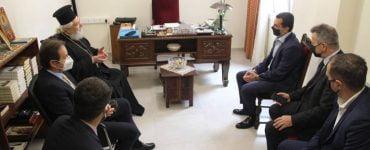 Ο Υφυπουργός Αγροτικής Ανάπτυξης επισκέφθηκε τον Μητροπολίτη Φωκίδος