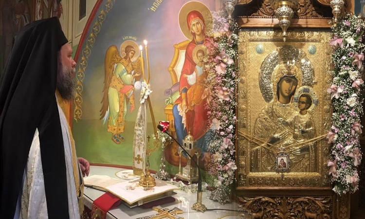Εορτή Συνάξεως Παναγίας Βηματάρισσας στη Νέα Ιωνία