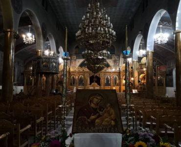 Αγρυπνία Παναγίας Μυρτιδιωτίσσης στην Καρδίτσα