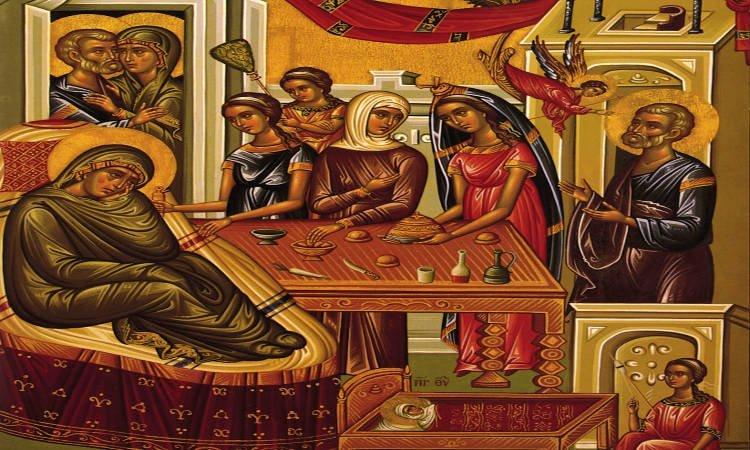 Πανήγυρις Παναγίας Φανερωμένης Τρικάλων Προεόρτια της Γέννησης της Δεσποίνης ημών Θεοτόκου και Αειπαρθένου Μαρίας Αγρυπνία Γενεσίου της Θεοτόκου στο Παλαιόκαστρο Θεσσαλονίκης Εορτή Γεννήσεως της Θεοτόκου