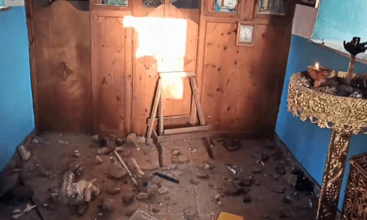 Βεβήλωση Ιερού Παρεκκλησίου στην περιοχή Μάνα της Σάμου (ΒΙΝΤΕΟ)
