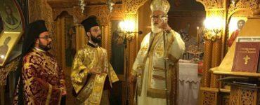 Θεία Λειτουργία στο Παρεκκλήσιο του Αγίου Νέστορα στη Θεσσαλονίκη