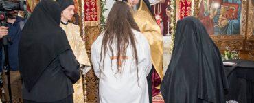 Μοναχική κουρά στη Μονή Αγίου Δημητρίου Παγγαίου (ΦΩΤΟ)