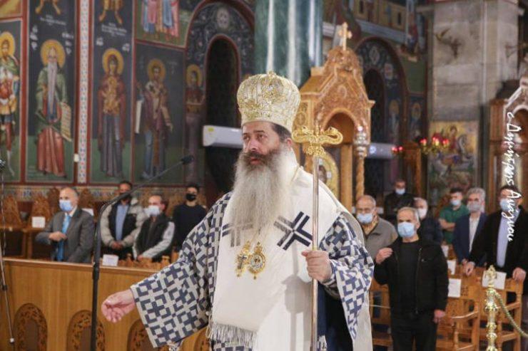 Φθιώτιδος Συμεών: Για μας τους Έλληνες η Παναγία μας είναι η Σκέπη στην αδυναμία μας (ΦΩΤΟ)