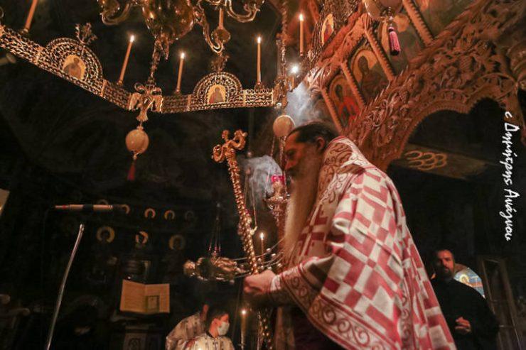 Αγρυπνία Αγίας Αναστασίας της Ρωμαίας στη Μονή Αγίου Γεωργίου Μύλων (ΦΩΤΟ)