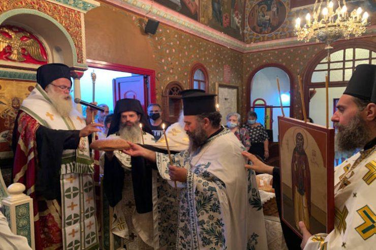 Εορτή Οσίου Ιωάννου του Ερημίτου στην Ιεράπετρα